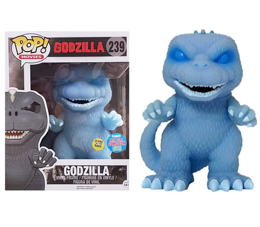 POP! Movies Godzilla (Ghost convention exclusive)