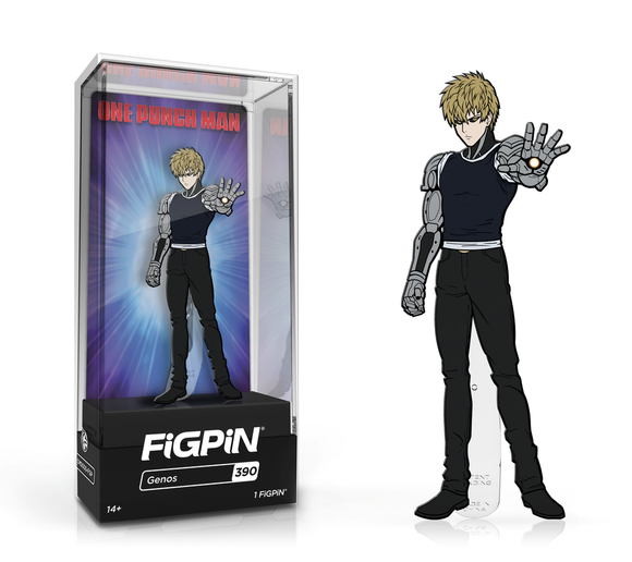 FiGPiN #390 One Punch Man GENOS Enamel Pin (PRE-ORDER)