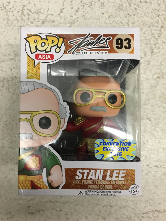 Pop! Asia Stan Lee Guan Yu (red exclusive)