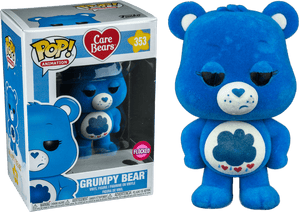 POP! Care Bears Grumpy Bear (flocked exclusive)