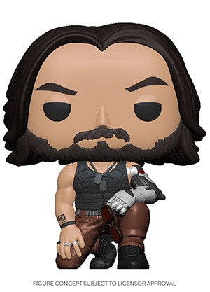 POP! Games Cyberpunk 2077 JOHNNY SILVERHAND (PRE-ORDER)