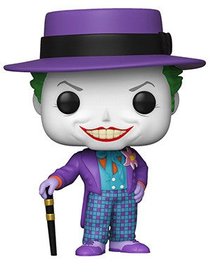 POP! DC Heroes BATMAN 1989 JOKER WITH HAT (PRE-ORDER)
