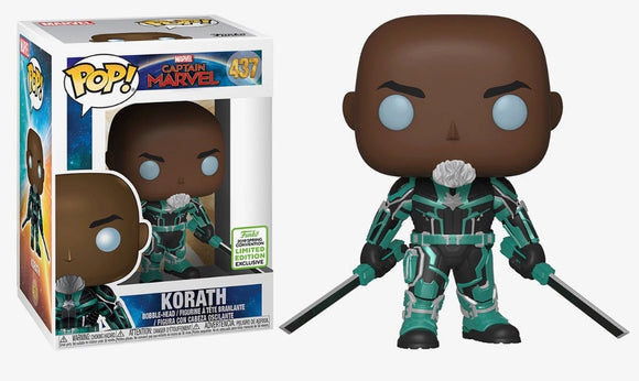 POP! Marvel Captain Marvel KORATH (convention exclusive)