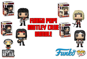 POP! Rocks Motley Crue 4-Pack bundle
