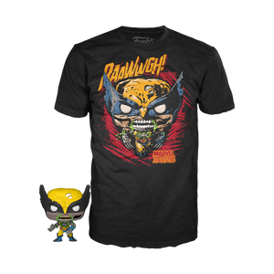 POP! Pocket POP! and Tee Marvel Zombies WOLVERINE (PRE-ORDER)
