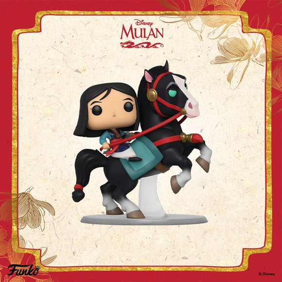 POP! RIDES Disney Mulan MULAN ON KHAN (PRE-ORDER)