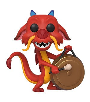 POP! Disney Mulan MUSHU WITH GONG (PRE-ORDER)