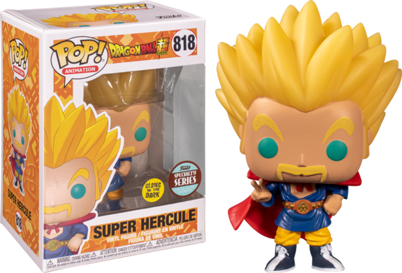 POP! Animation Dragon Ball Super SUPER SAIYAN HERCULE (glow) (Specialty Series)
