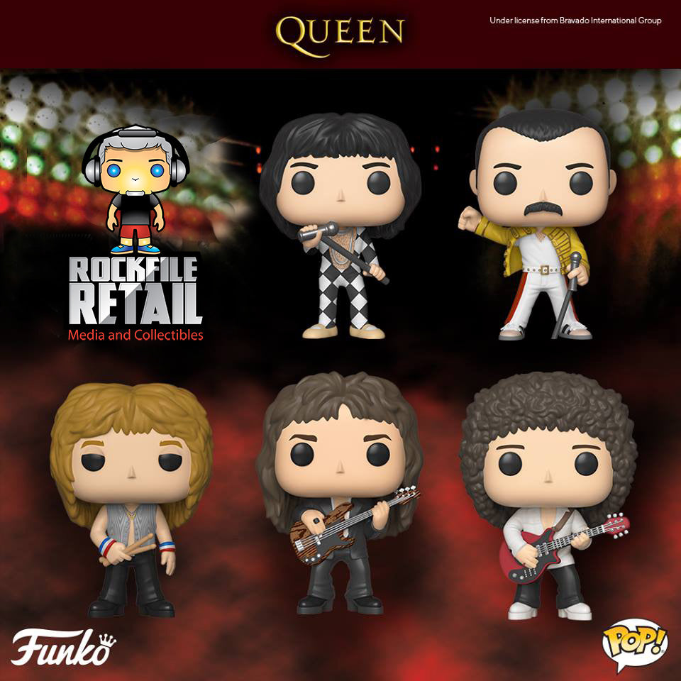POP! Rocks QUEEN 5-Pack Bundle (PRE-ORDER)
