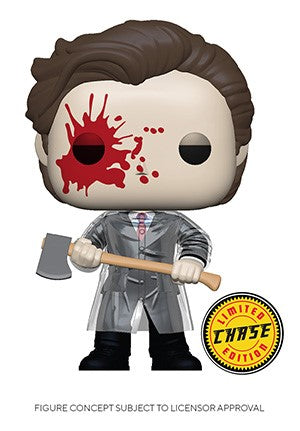 POP! Movies American Psycho PATRICK WITH AXE CHASE BUNDLE (PRE-ORDER)