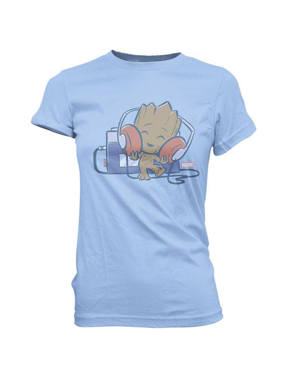 POP! Super Cute Tees Marvel Groot