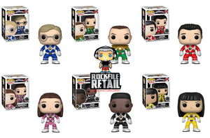 POP! Television Power Rangers 25th Anniversary 6-Pack Bundle (PRE-ORDER)