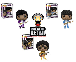 POP! Rocks Prince 3-Pack Bundle (PRE-ORDER)