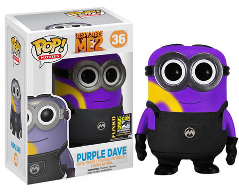 POP! Movies Despicable Me 2 PURPLE DAVE