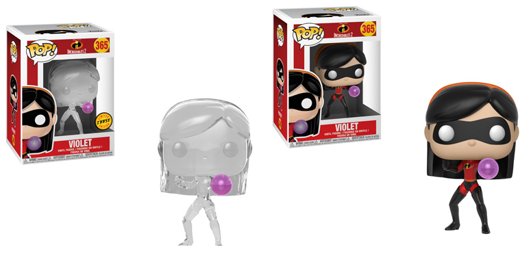 POP! Disney Incredibles 2 Violet Chase 2-Pack Bundle