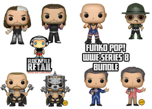 POP! WWE Series 8 6-Pack Bundle