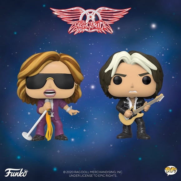 POP! Rocks Aerosmith Bundle 2-Pack (PRE-ORDER)