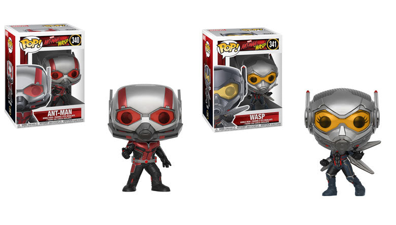 POP! Marvel Ant-Man and the Wasp 2-Pack Bundle