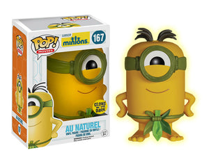 POP! Movies Minions AU NATUREL GITD