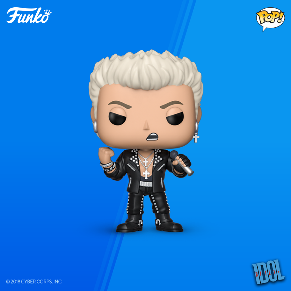 POP! Rocks BILLY IDOL (PRE-ORDER)