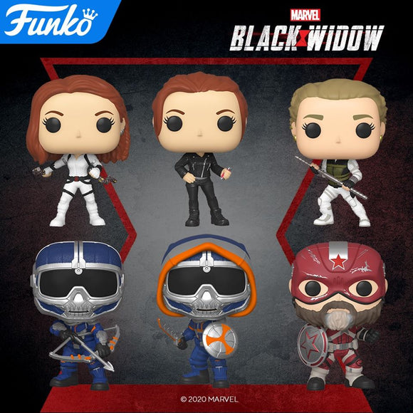 POP! Marvel BLACK WIDOW Bundle 6-Pack (PRE-ORDER)