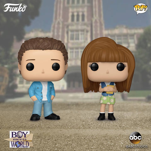 POP! Television BOY MEETS WORLD 2-Pack Bundle (PRE-ORDER)