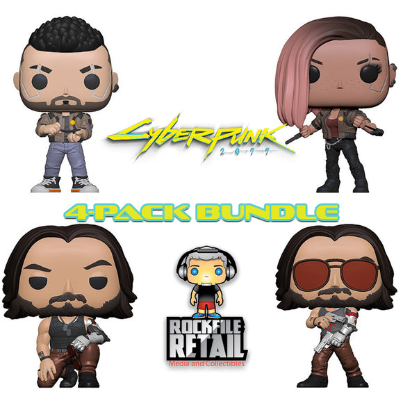 POP! Games Cyberpunk 2077 Bundle 4-Pack (PRE-ORDER)