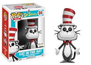 POP! Books Dr. Seuss Cat In The Hat (flocked exclusive)
