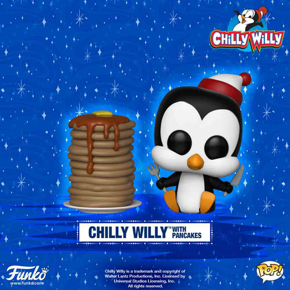 POP! Animation Chilly Willy CHILLY WILLY WITH PANCAKES
