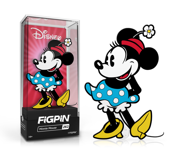 FiGPiN #262 Disney MINNIE MOUSE Enamel Pin (PRE-ORDER)