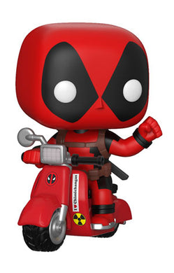 POP! Rides Marvel Deadpoool & Scooter
