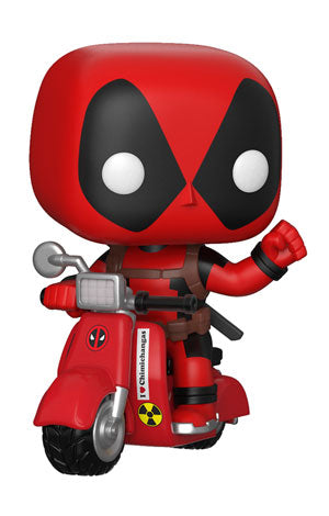 POP! Rides Marvel DEADPOOL & SCOOTER