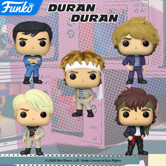 POP! Rocks DURAN DURAN BUNDLE 5-Pack (PRE-ORDER)
