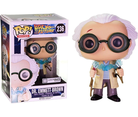 POP! Movies Back To The Future: Dr. Emmett Brown (1955 - w/ Jumper Cables) (exclusive)