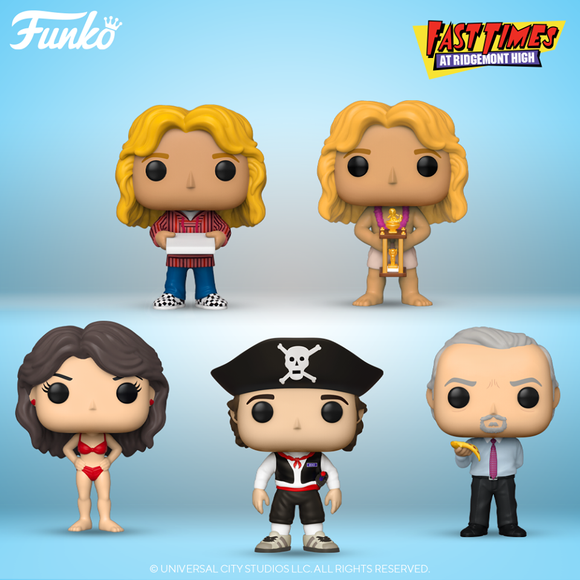 POP! Movies Fast Times At Ridgemont High Bundle 5-Pack (PRE-ORDER)