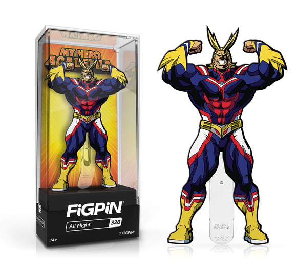 FiGPiN #326 My Hero Academia ALL MIGHT Enamel Pin (PRE-ORDER)