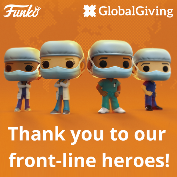 POP! Heroes Front-Line Workers Bundle 4-Pack (PRE-ORDER)