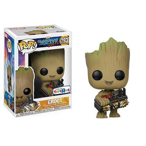 POP! Marvel Guardians Of The Galaxy Groot Holding Bomb (exclusive)