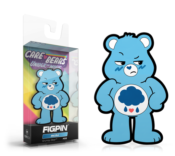 FiGPiN Mini #M56 Care Bears Unlock The Magic GRUMPY BEAR Enamel Pin (PRE-ORDER)
