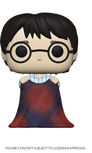 POP! Harry Potter HARRY WITH INVISIBILITY CLOAK (PRE-ORDER)