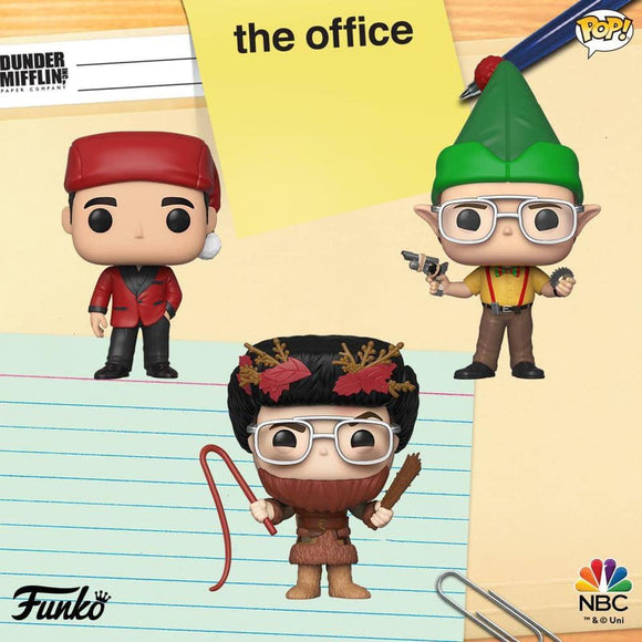 POP! Television The Office HOLIDAY 3-Pack Bundle (PRE-ORDER)