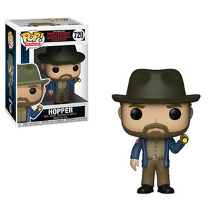 POP! Television Stranger Things Hopper with Flashlight (PRE-ORDER)