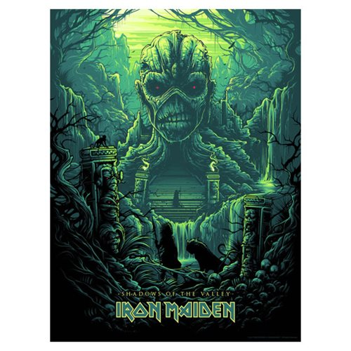 Iron Maiden Shadows of the Valley by Dan Mumford Art Print