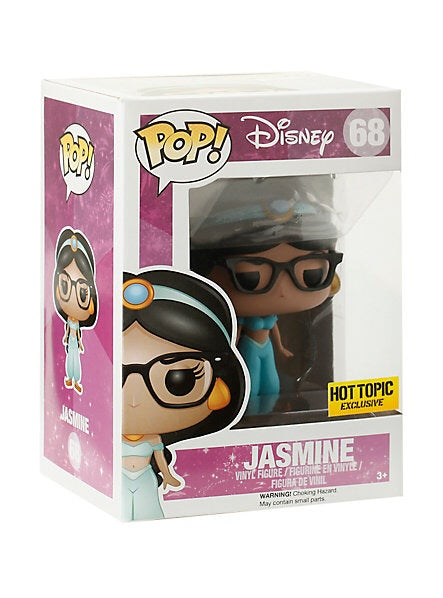 POP! Jasmine (Glasses) (exclusive)