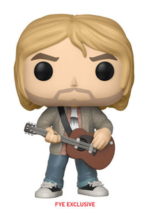 POP! Rocks KURT COBAIN (Tan Sweater) (exclusive)