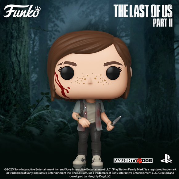 POP! Games The Last of Us Part II ELLIE (PRE-ORDER)