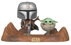 POP! Moment The Mandalorian MANDALORIAN AND THE CHILD (PRE-ORDER)