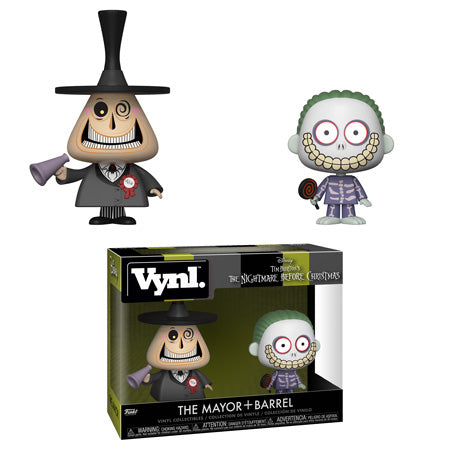 VYNL Disney The Nightmare Before Christmas The Mayor and Barrel  (PRE-ORDER)