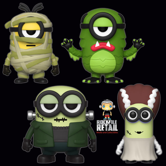 POP! Movies Minions Halloween Bundle 4-Pack (PRE-ORDER)