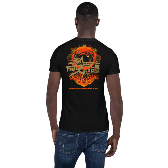 Rockfile Radio Explorer 2-Sided Short-Sleeve Unisex T-Shirt